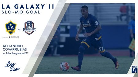 Alejandro Covarrubias rejoins LA Galaxy II