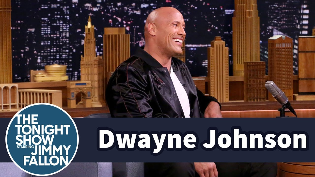 Watch: Dwayne 'The Rock' Johnson talks possibility of presidential bid on 'Fallon'