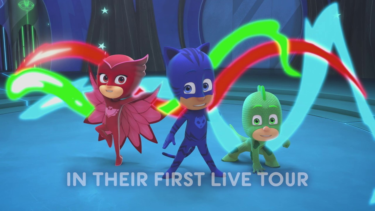 pj masks live schedule dates events and tickets axs