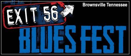 Exit 56 Blues Fest poster