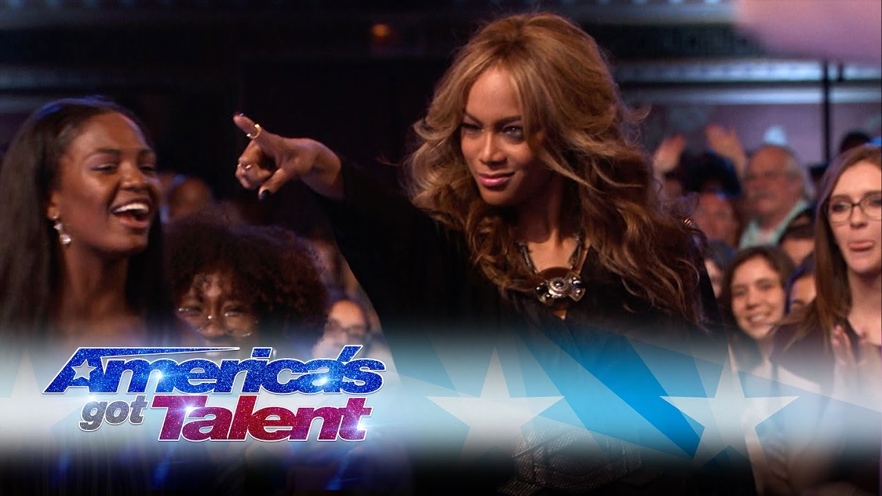 Americas got talent 2017 impersonations -  America S Got Talent Boss Simon Cowell Praises Tyra Banks Dubs Her A Bit Of A Diva