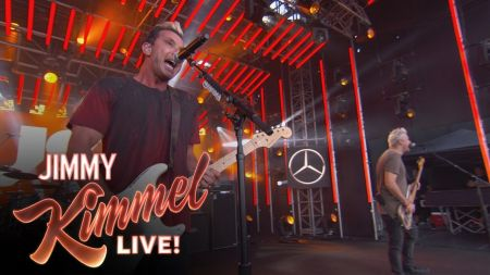 Watch: Bush perform 'Nurse' on 'Jimmy Kimmel Live'
