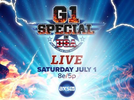 New Japan Pro Wrestling will make first ever US debut July 1, catch 'G! Special in USA'  it on AXS TV