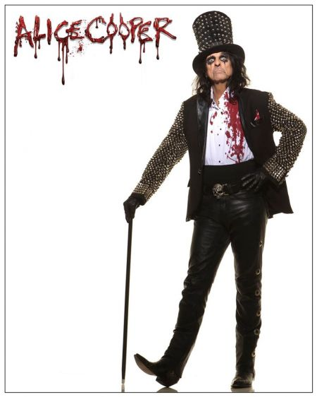 Alice Cooper's upcoming album will feature a pair of brand new songs, co-written by his original bandmates.