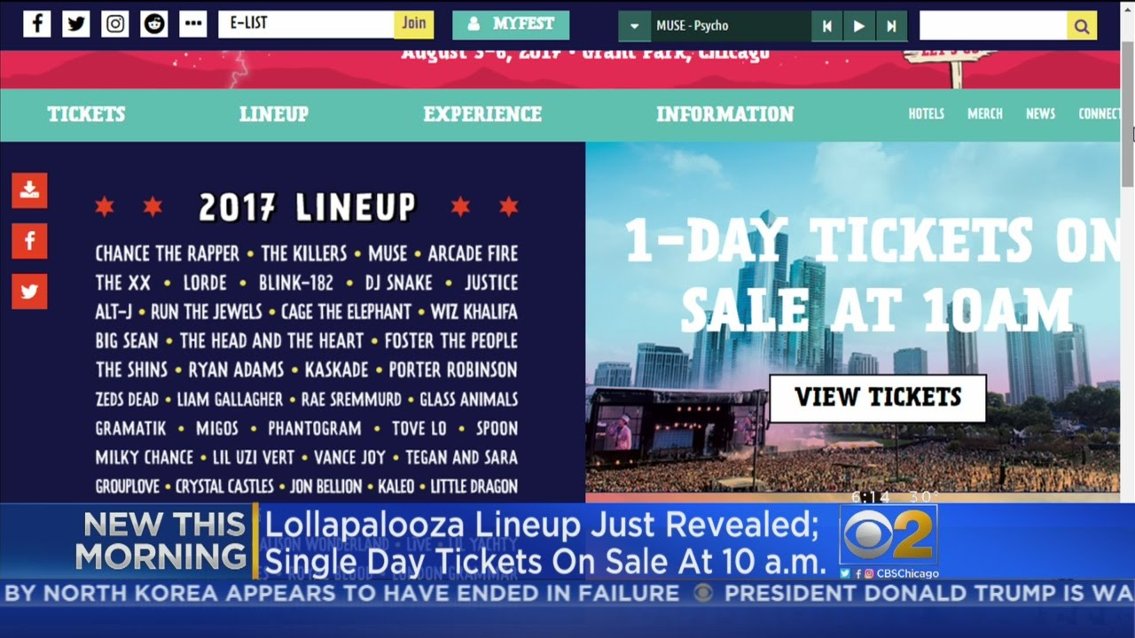 Lollapalooza reveals 2017 aftershows featuring Royal Blood, Tegan and Sara, PUP and more