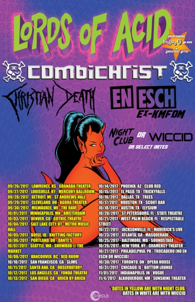 Lords of Acid will do 'Voodoo-U' on tour