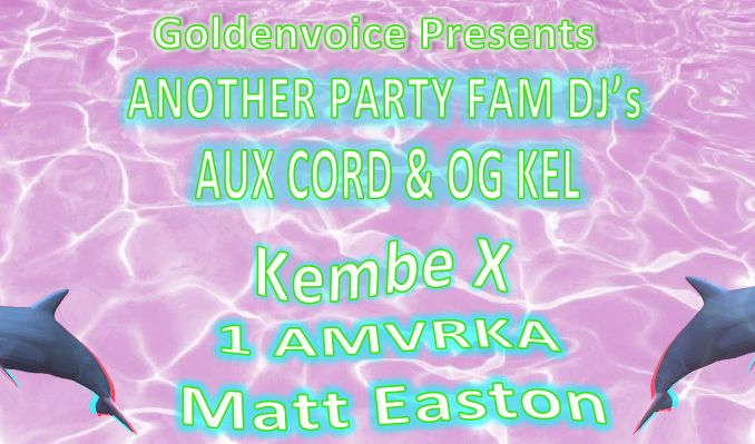Another Party Fam DJs: Aux Cord & OG KEL tickets at Cafe Du Nord in San Francisco