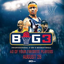 BIG3 tickets at T-Mobile Arena in Las Vegas