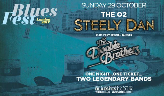 BluesFest presents Steely Dan tickets at The O2 in London