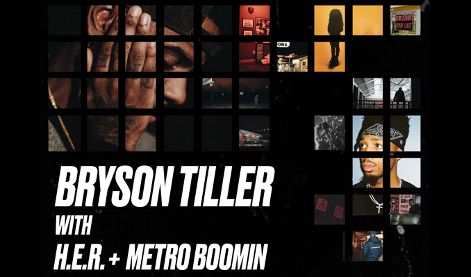 Bryson Tiller tickets at UNO Lakefront Arena, New Orleans