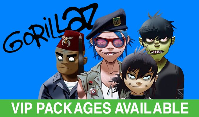 Gorillaz tickets at Sprint Center in Kansas City