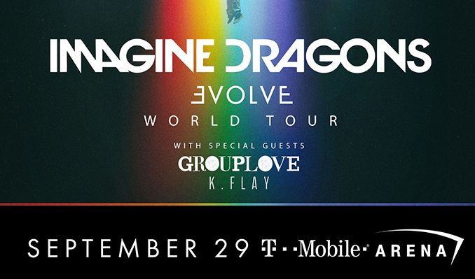 Imagine Dragons tickets at T-Mobile Arena in Las Vegas
