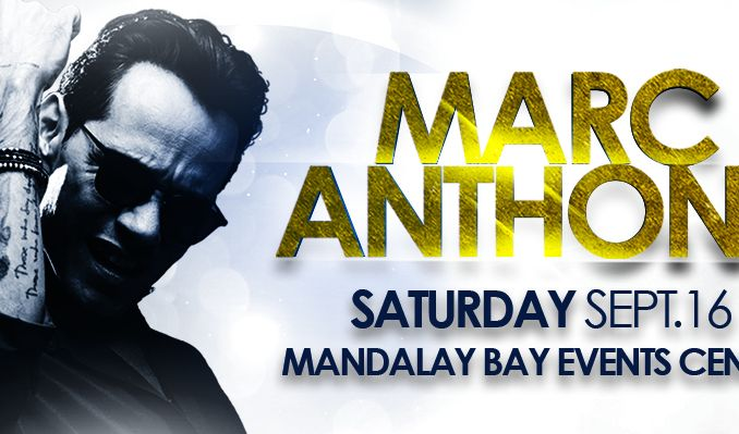Marc Anthony tickets at Mandalay Bay Events Center in Las Vegas