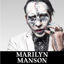 Marilyn Manson tickets at ANNEXET/Stockholm Live in Stockholm