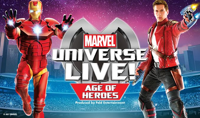 Marvel Universe LIVE! Age of Heroes tickets at Valley View Casino Center in San Diego