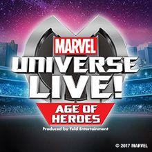 Marvel Universe LIVE! tickets