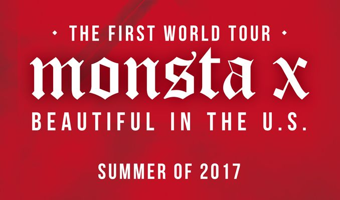 """Monsta X """"BEAUTIFUL IN THE U.S."""" tickets at PlayStation Theater in New York"""