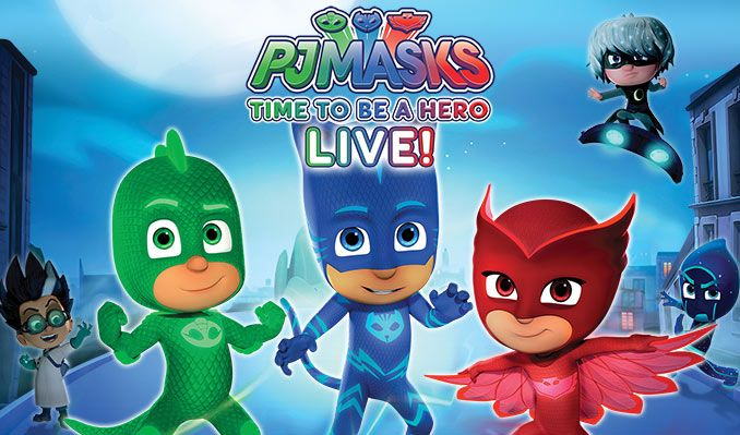 PJ Masks Live! tickets at Arvest Bank Theatre at The Midland in Kansas City