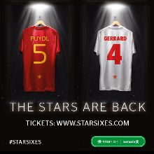 Star Sixes tickets