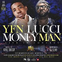 YFN Lucci tickets at The NorVa in Norfolk