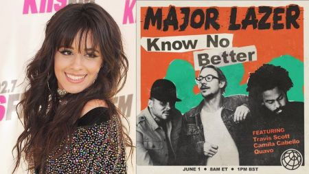 Watch: Major Lazer and Camila Cabello premiere upcoming single 'Know No Better' in Miami