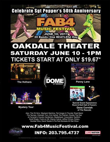 The Fab 4 Music Festival poster