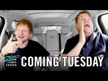 Watch: James Corden shares first teaser of Carpool Karaoke with Ed Sheeran