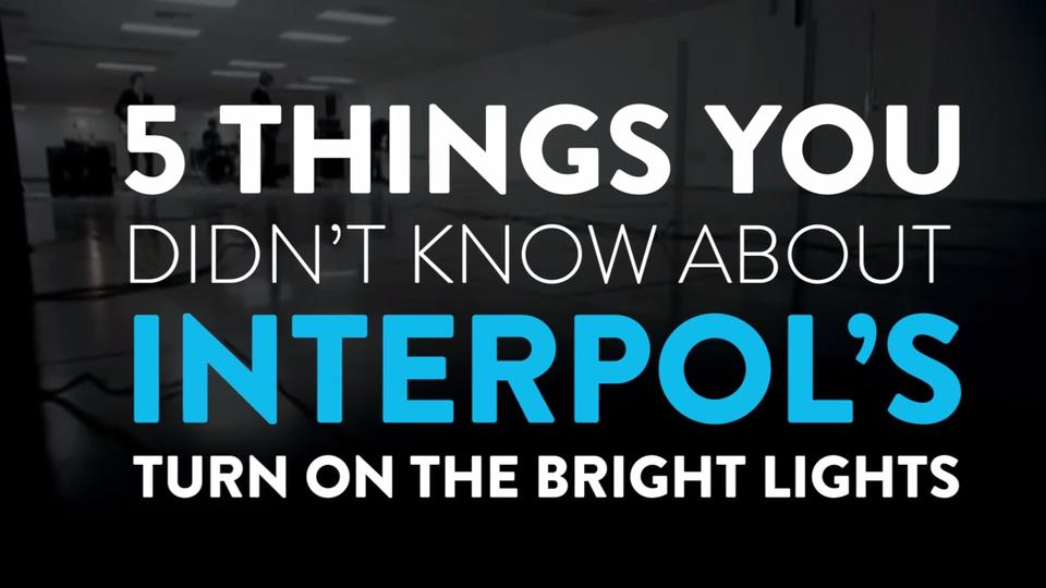 Interpol announce special anniversary dates for 'Turn On The Bright Lights' tour