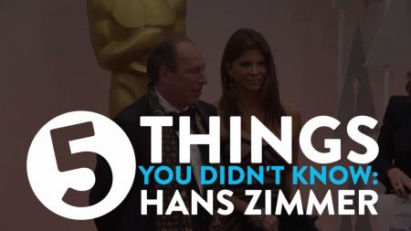 5 things you didn't know about Hans Zimmer