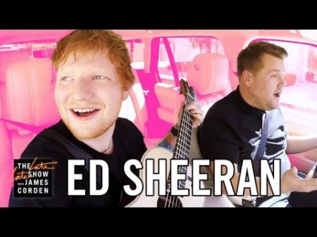 Watch: Ed Sheeran flirts with James Corden during Carpool Karaoke