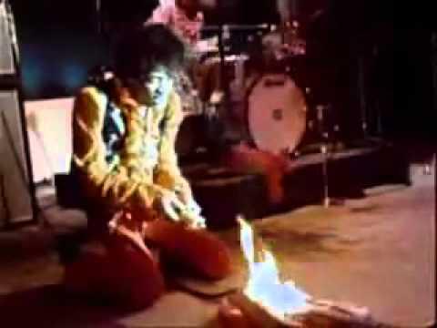 Jimi Hendrix's famous Monterey Pop Festival guitar going up for auction