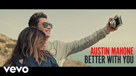 Austin Mahone takes his girl for a joyride in 'Better With You' music video