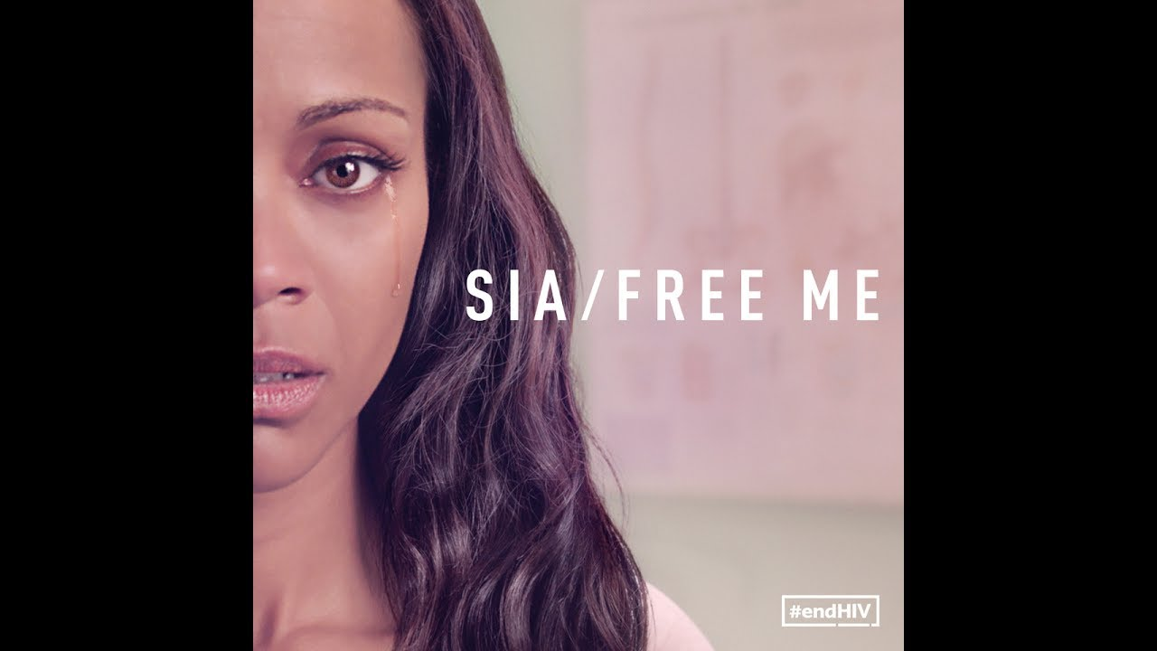Sia releases 'Free Me' music video starring Zoe Saldana