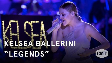 Watch: Kelsea Ballerini debuts 'Legends' at CMT Awards