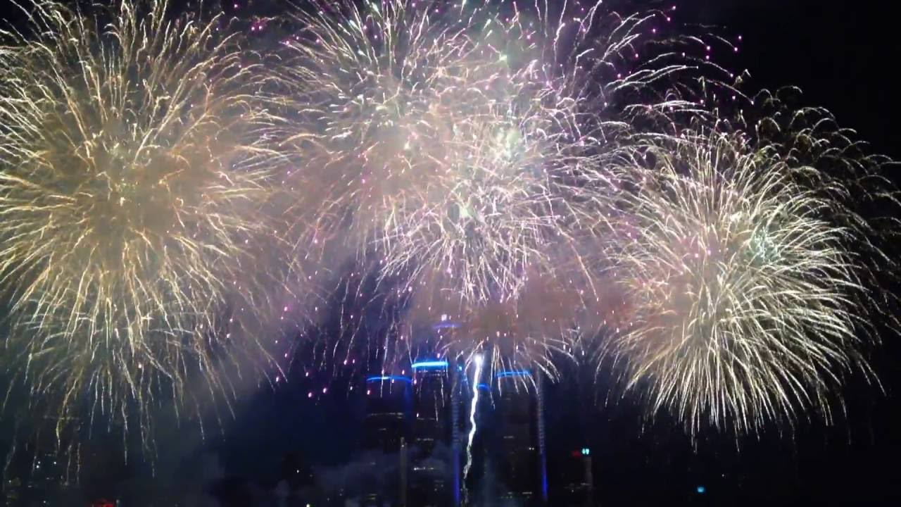 Where to watch July 4th fireworks in Detroit 2017