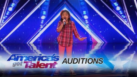 Interview: Angelica Hale and her dad discuss her amazing 'America's Got Talent' audition and inspiring others with her gift