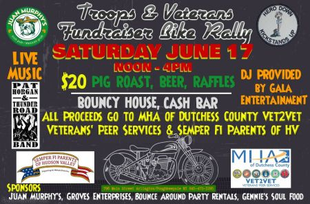 Saturday June 17, 2017 fundraiser from noon to 4pm.