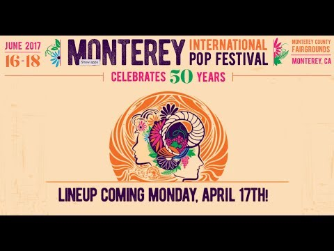 Complete 2017 Monterey Pop Festival set times and lineup