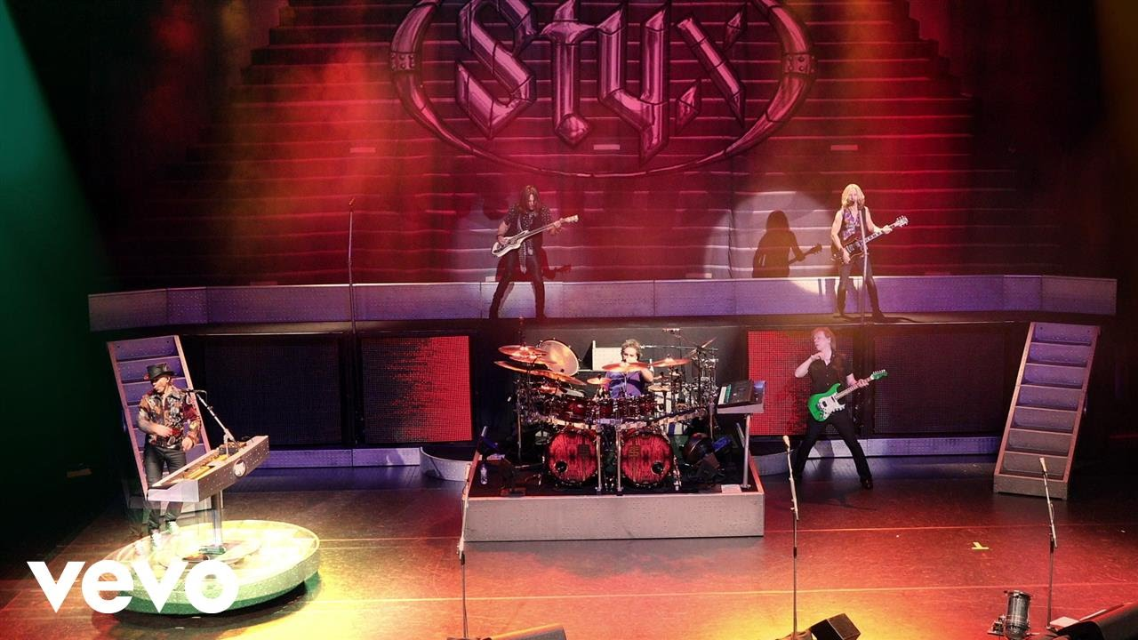 Styx blast off with first new album in 14 years, 'The Mission'
