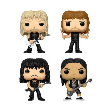 New Metallica Funko Pop! vinyl figures coming soon