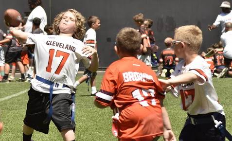 cleveland browns youth football