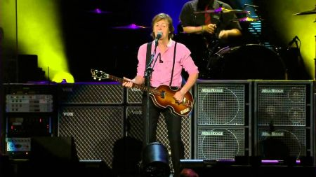 Paul McCartney celebrates 75th birthday with Companion of Honour Award on Father's Day