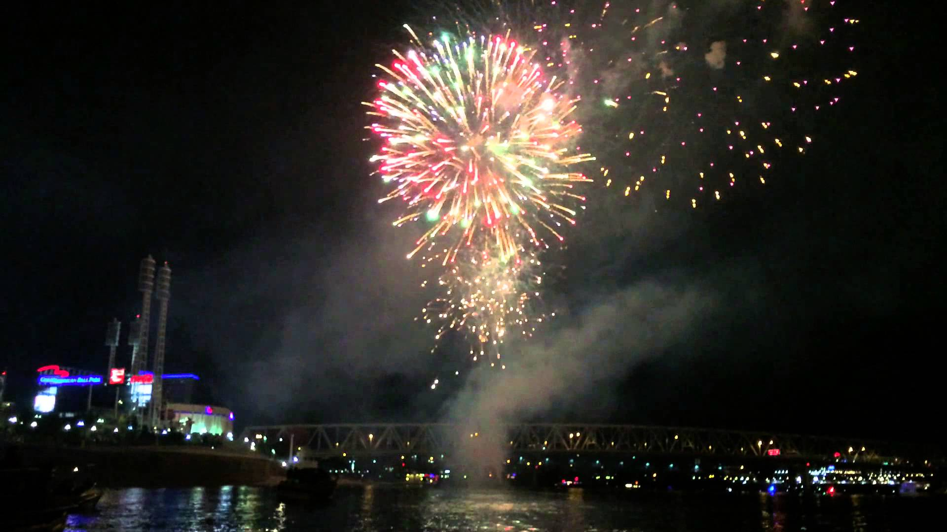 Where to watch July 4th fireworks in Cincinnati 2017