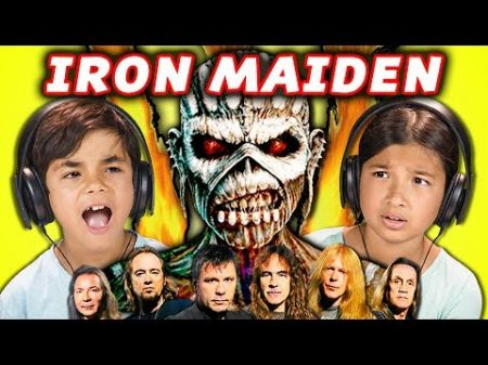 Watch: Kids hilariously react to listening to Iron Maiden