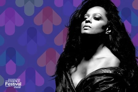 Diana Ross will headline the main stage at the 2017 Essence Music Festival on Friday, June 30.