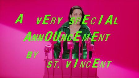 St. Vincent announces Fear the Future fall tour