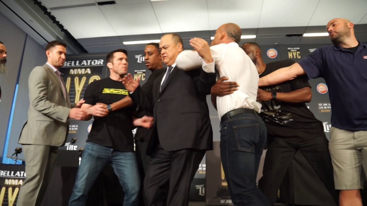 Silva says he won't shake Sonnen's hand after Bellator NYC fight