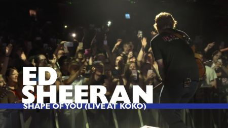 Watch: Ed Sheeran performs intimate show for lucky fans who won Capital Up Close tickets