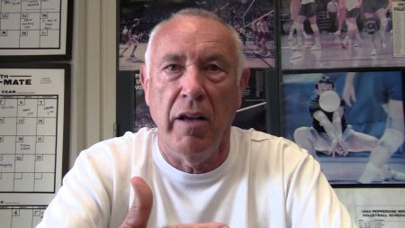 American volleyball coach Marv Dunphy retires