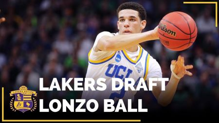 Los Angeles Lakers select Lonzo Ball with No. 2 pick in NBA Draft